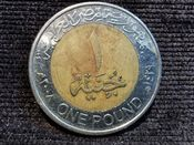 Egypt, One Pound 2008, VF, WO3164